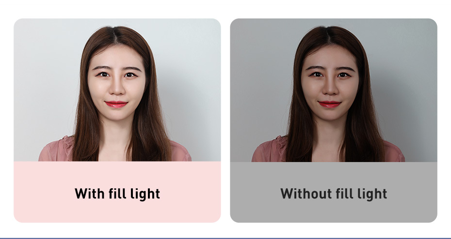 Baseus Dimmable LED Selfie Ring Light with Tripod USB Selfie Light Ring Lamp Big Photography Ringlight & Stand for Cell Phone St